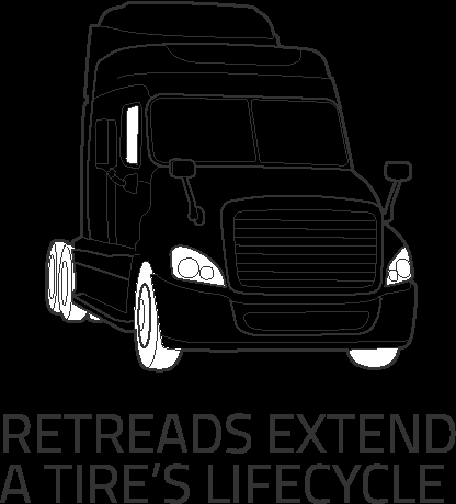 Retreads Extend a Tire's Lifecycle