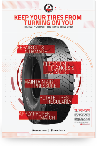 FREE Bridgestone Free OTR Inspection Poster