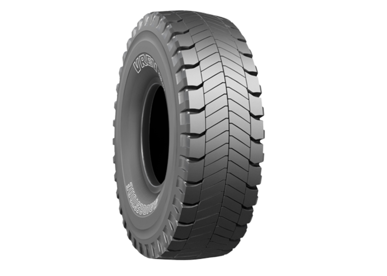 vrev  dump truck earth mover tires bridgestone otr
