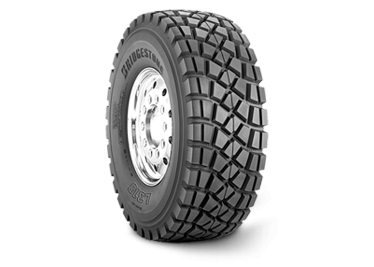 L315 - Cement Mixer & Dump Truck Tires - Bridgestone