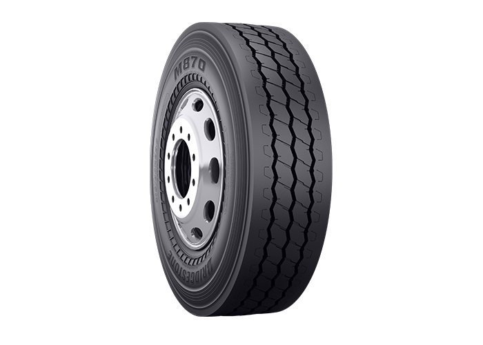 Bridgestone Commercial M870 tire