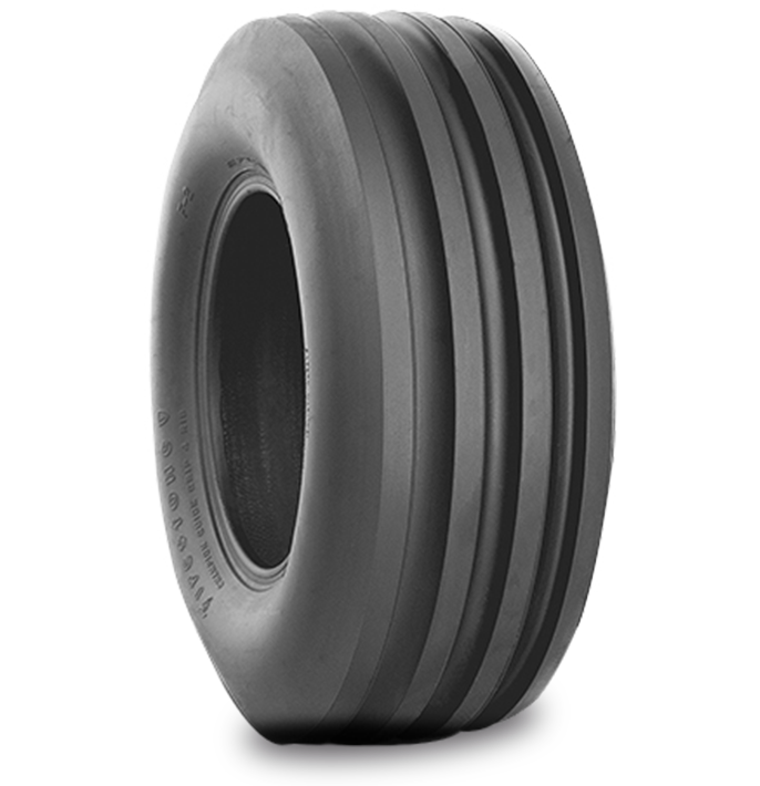 CHAMPION GUIDE GRIP™ 4-RIB STUBBLE STOMPER TIRE Specialized Features