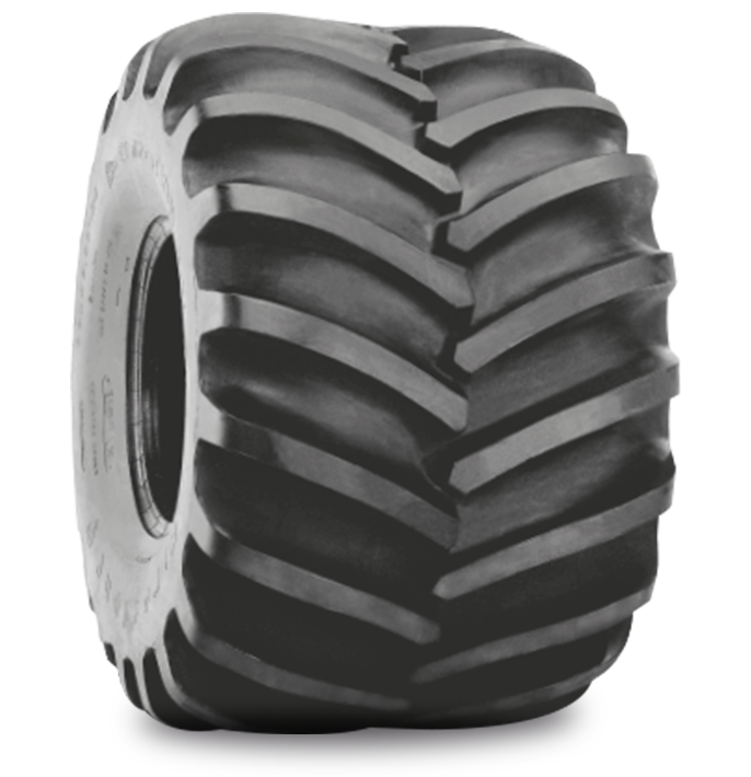 FLOTATION 23° DEEP TREAD TIRE Specialized Features