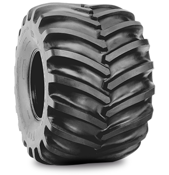 FLOTATION 23° DT (WTP) LOGGER HF-3 TIRE Specialized Features