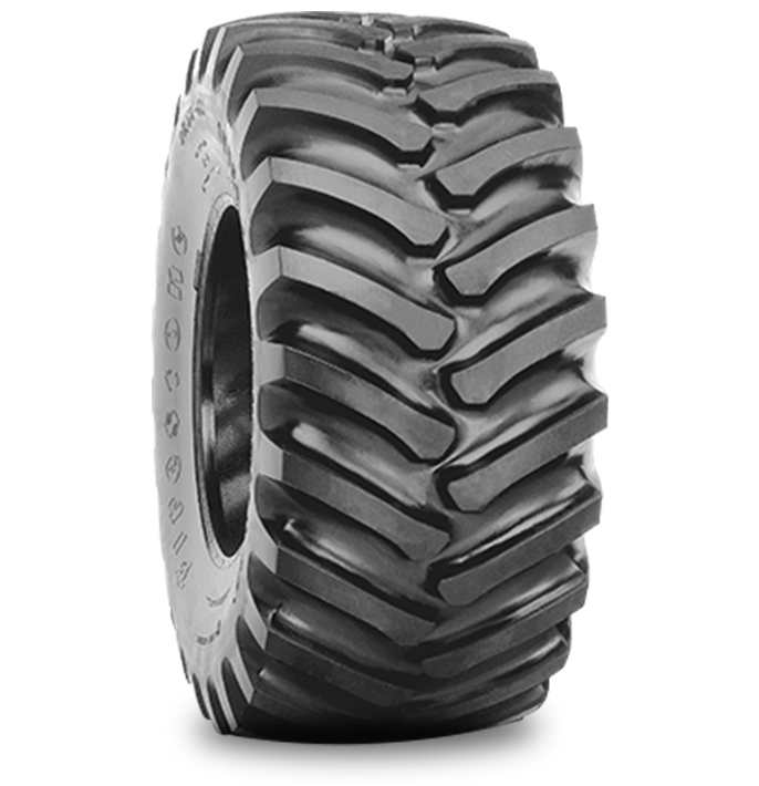 SUPER ALL TRACTION™ 23° TIRE Specialized Features