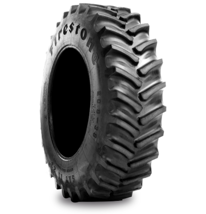 SUPER ALL TRACTION™ II 23° Tire Specialized Features