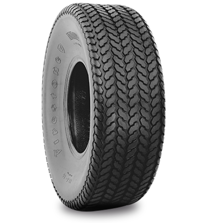 TURF AND FIELD™ 7-RIB TIRE Specialized Features