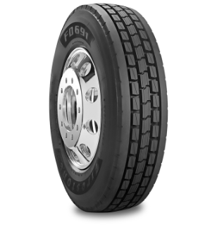 FD691™ Tire Specialized Features