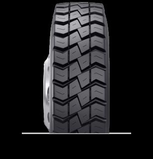 Características especializadas del neumático reencauchado BDM™