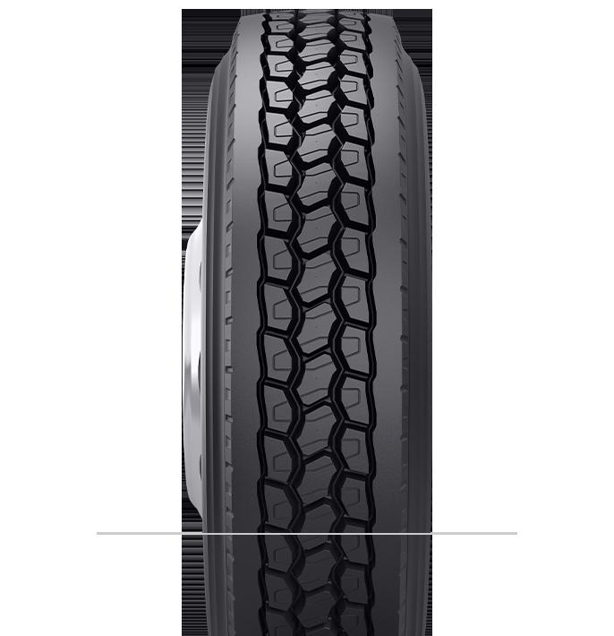 Características especializadas del neumático reencauchado B710™
