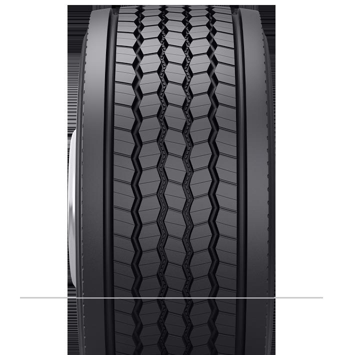 Características especializadas del neumático reencauchado B835™