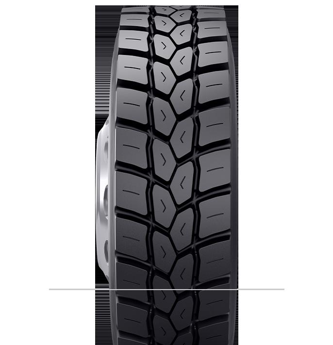 Imagen del neumático reencauchado BDM2<sup>™</sup>