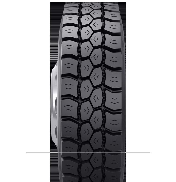 Características especializadas del neumático reencauchado BDM3™
