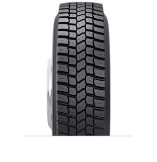 Características especializadas del neumático reencauchado BDR-AS™