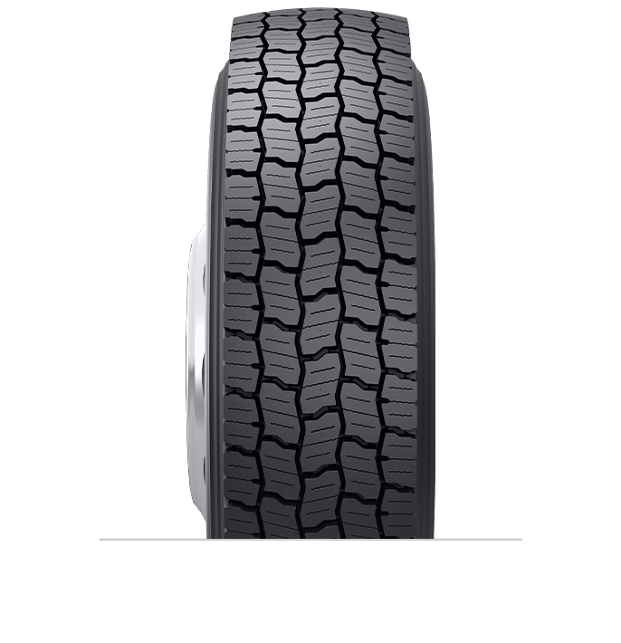 Características especializadas del neumático reencauchado BDR-HG