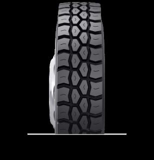 Características especializadas del neumático reencauchado BDY1s