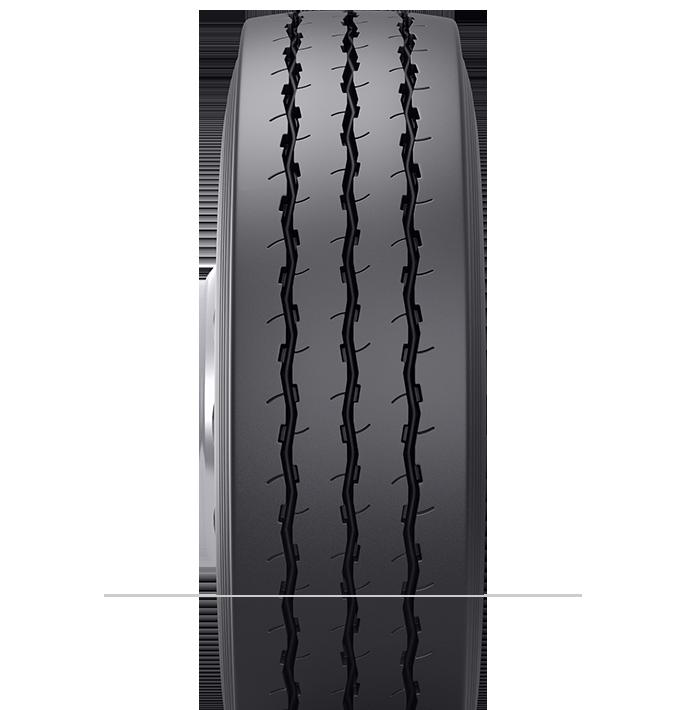 Características especializadas del neumático reencauchado BRM2™
