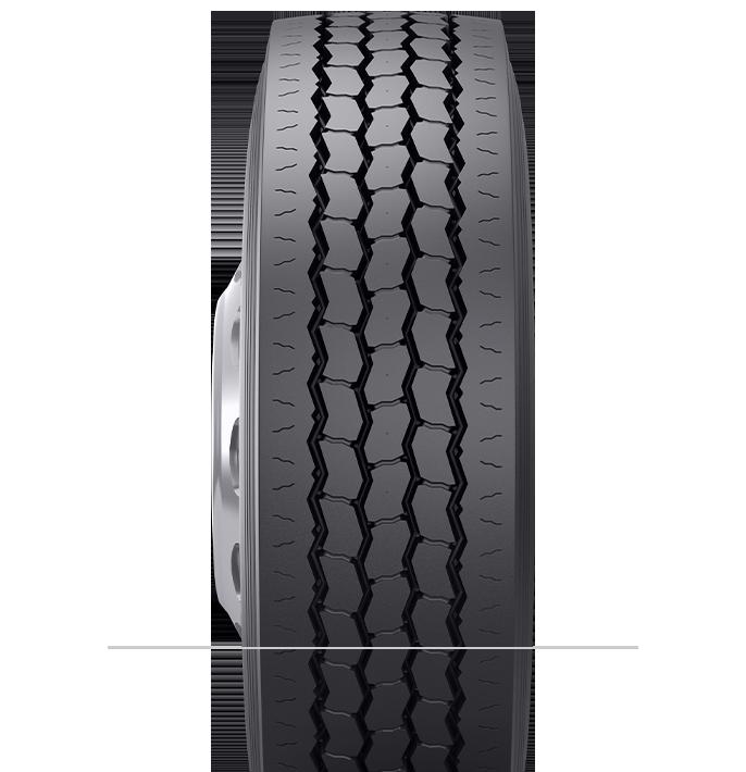 Características especializadas del neumático reencauchado BRM3™