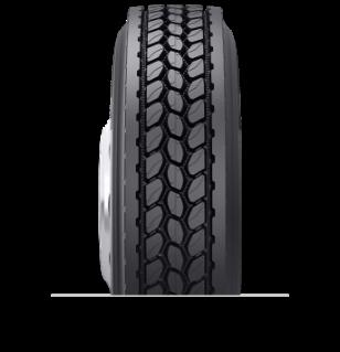 Características especializadas del neumático reencauchado DR 5.3™