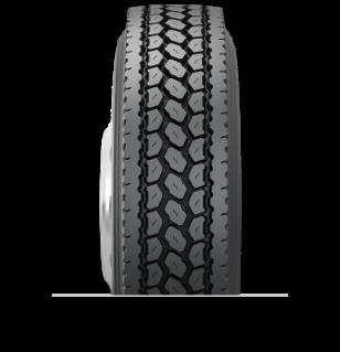 Características especializadas del neumático reencauchado MegaTrek™