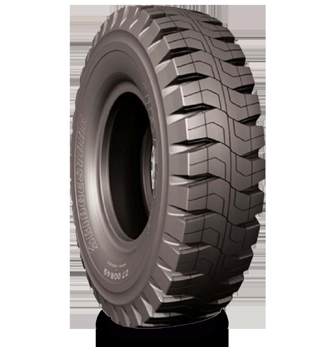 Características especializadas del neumático VREP™