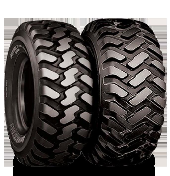 Características especializadas del neumático VUT