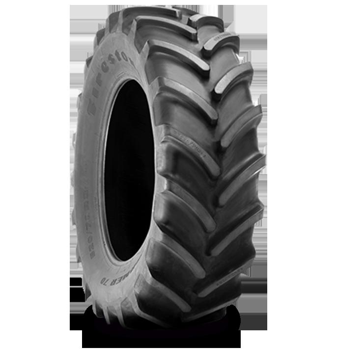Características especializadas del neumático PERFORMER™ 70