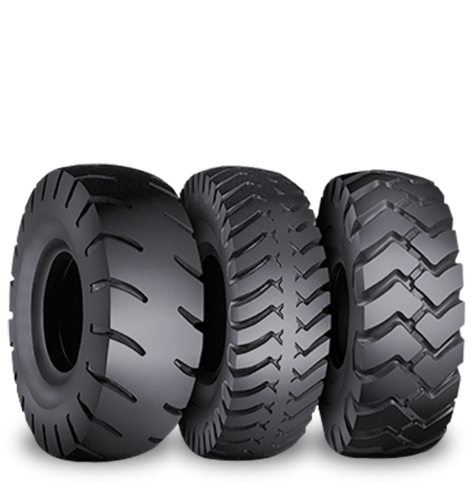 Características especializadas del neumático SRG DT LD