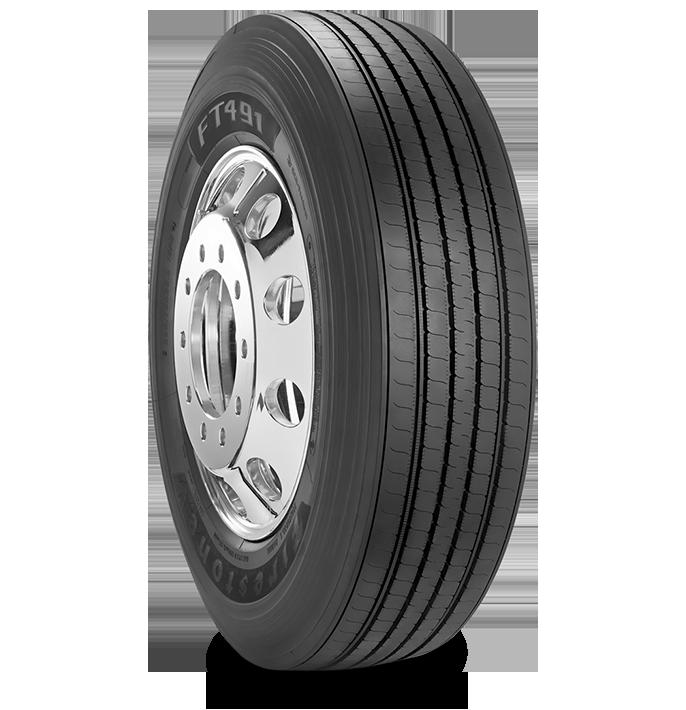 Características especializadas del neumático FT491™