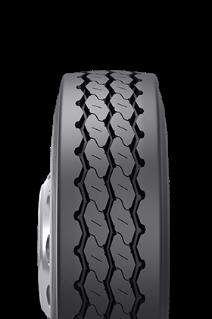 Caractéristiques spécialisées du pneu rechapé BRM™