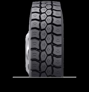 Caractéristiques spécialisées du pneu rechapé BDM3™