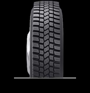 Caractéristiques spécialisées du pneu rechapé BDR-AS™