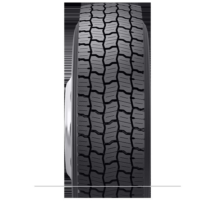 Caractéristiques spécialisées du pneu rechapé BDR-HG
