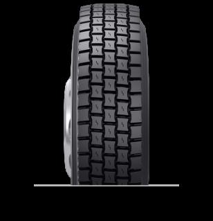 Caractéristiques spécialisées du pneu rechapéBDR-HT3