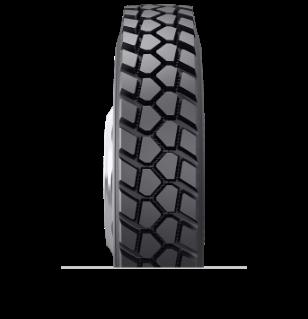 Caractéristiques spécialisées du pneu rechapé BLSS™