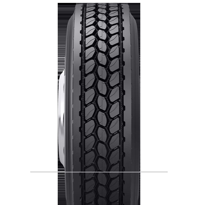 Caractéristiques spécialisées du pneu rechapé DR 5,3™