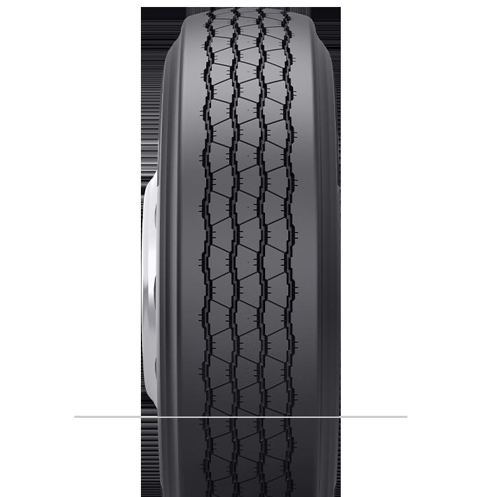Caractéristiques spécialisées du pneu rechapé TR 4,1™