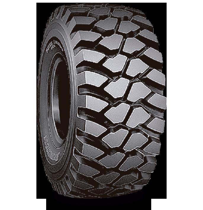 Caractéristiques spécialisées du pneu VLTS