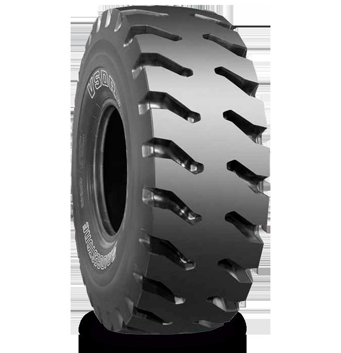 Caractéristiques spécialisées du pneu VSDR™