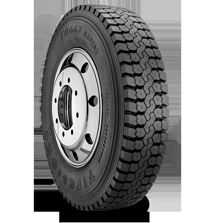 Caractéristiques spécialisées du pneu FD663™